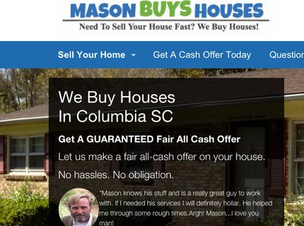 We Buy Houses In Columbia South Carolina