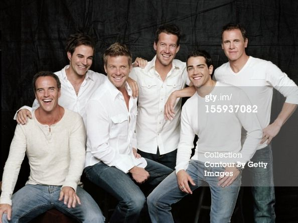 Cast members of the television show Desperate Housewives, actors, James Denton, Jesse Metcalfe, Roger Bart, Doug Savant, Richard Burgi, Mark Moses are photographed for People Magazine on September 1, 2005
