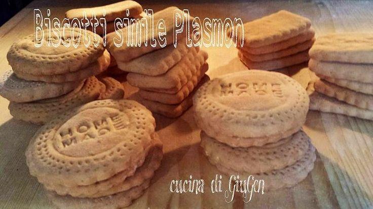 Biscotti simile plasmon - ricetta ( senza uova e senza burro)