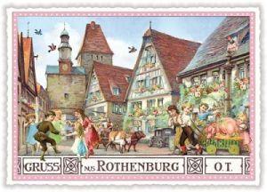tausendschön postkarten - Rothenburg o.T.