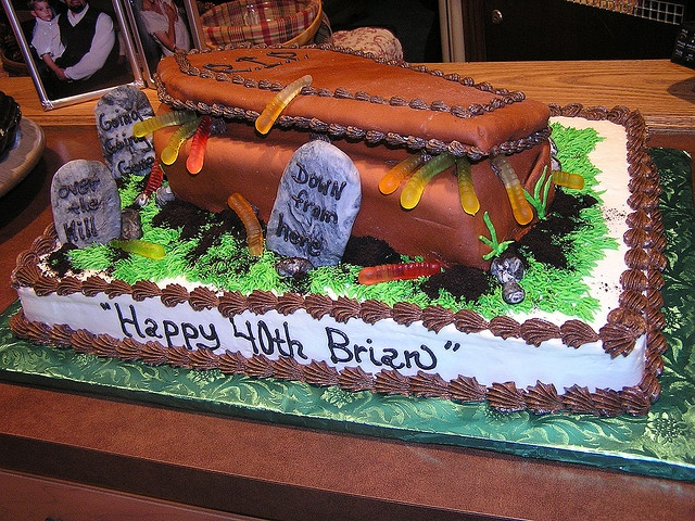 16 best 40th birthday Halloween cake ideas images on Pinterest