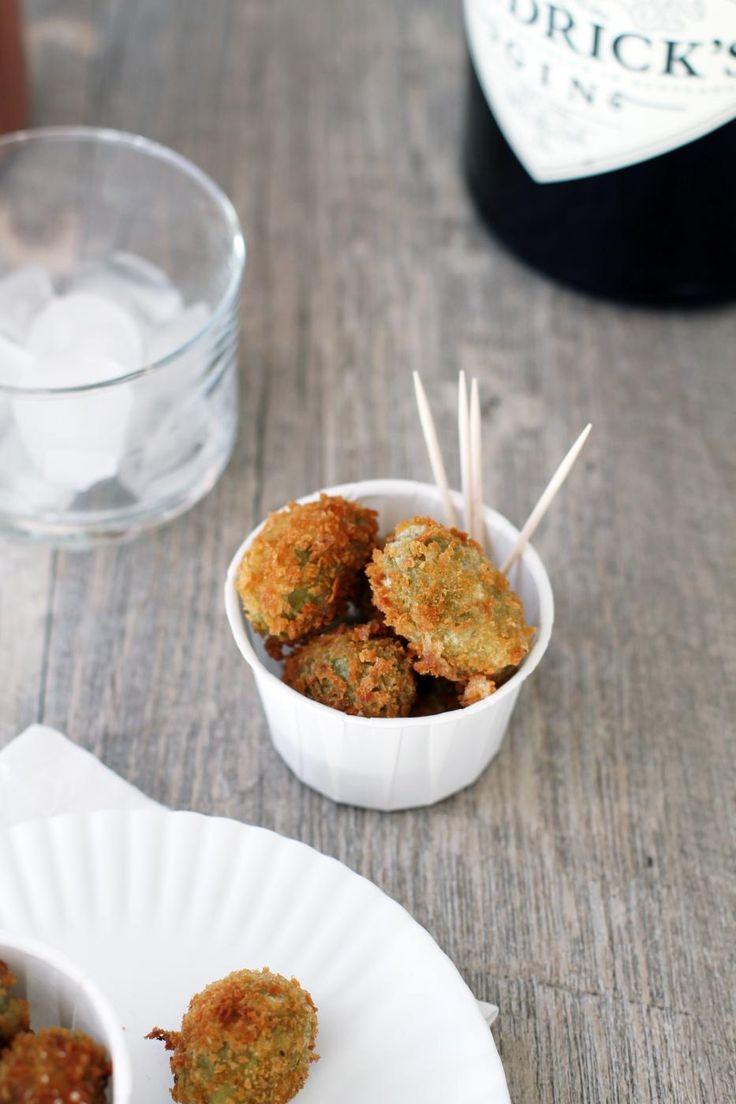 Friteeratut oliivit - Fanni ja Kaneli