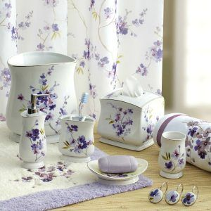 Lilac Bathroom Decor