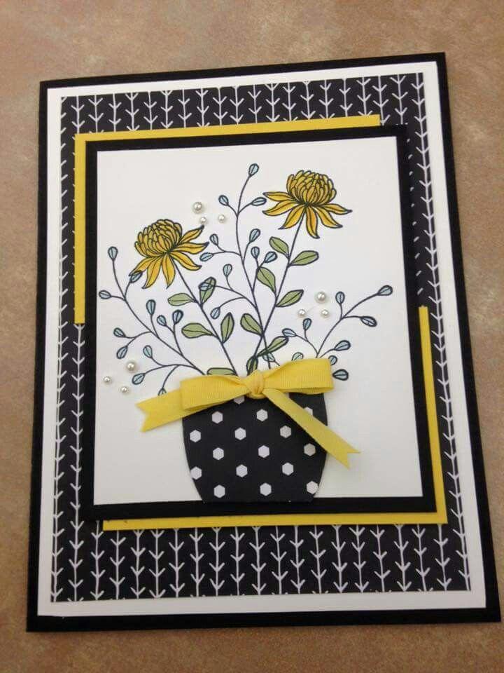 296 best Birthday Cards - Flower Pots images on Pinterest ...