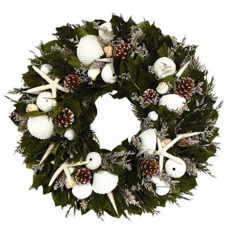 Christmas On The Cape Wreath.