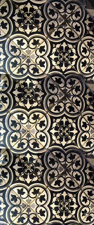 Ventana cocina-pasillo (morrocan tiles)