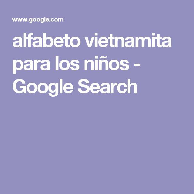 alfabeto vietnamita para los niños - Google Search
