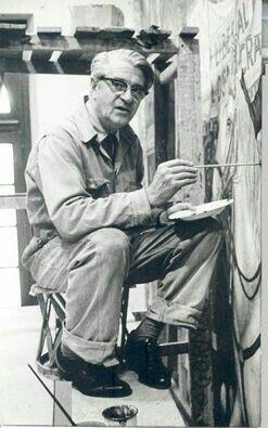 Juan O´Gorman, espíritu rebelde, progresista, revolucionario y crítico.  Entre sus obras destacan el mural de la Biblioteca Central de Ciudad Universitaria y el Retablo de la Revolución mexicana 1910-1914 en el Castillo de Chapultepec.