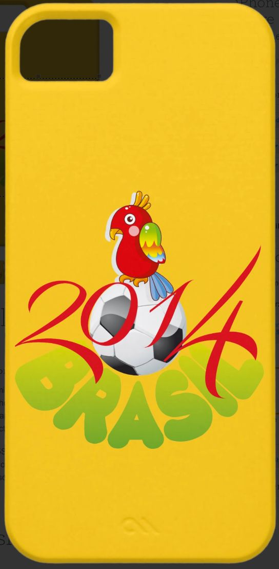 World Cup 2014 Brazil Parrot - http://www.zazzle.com/world_cup_soccer_2014_parrot-179272753337837430?rf=238087280021604351