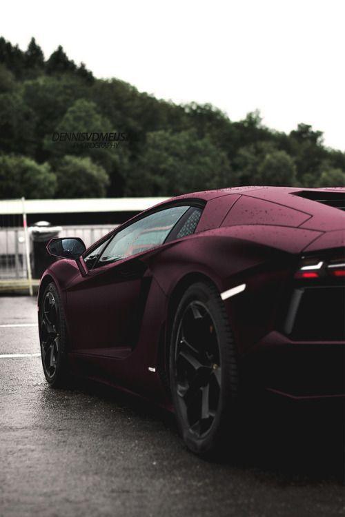 motivationsforlife:Matte Lamborghini by Dennis Van Der Meijs