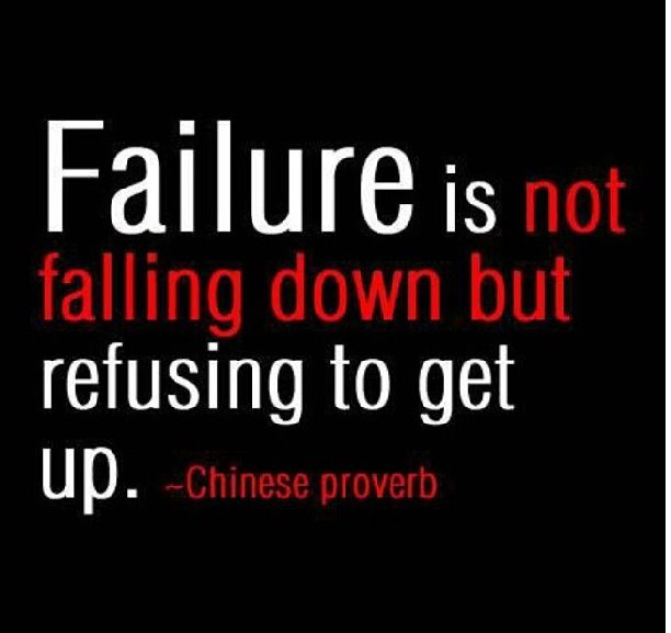 Inspirational Quotes About Failure: 50 Best Images About ༄Success Comes After Failure On