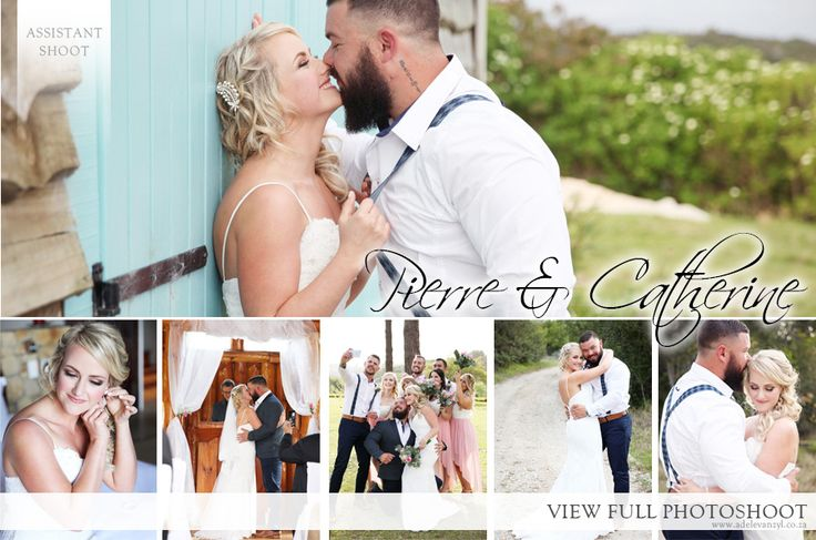 Pierre and Catherine's Wedding - Adele van Zyl Photography