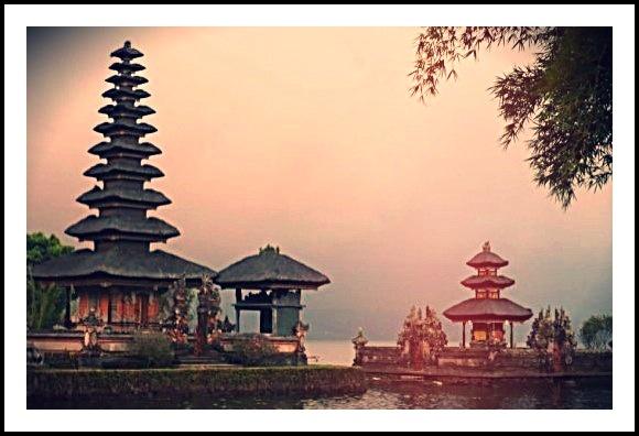 Ulundanu Temple. Bali, Indonesia.