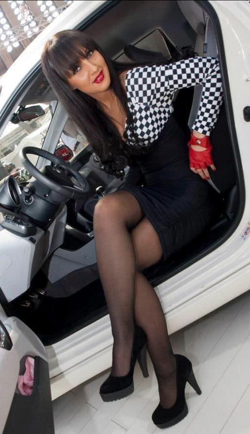 Short car girl skirt