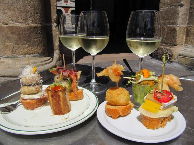 GURE TOKI, Plaza Nueva, Casco Viejo, Bilbao. Personal opinion: one of best pintxos in Bilbao!