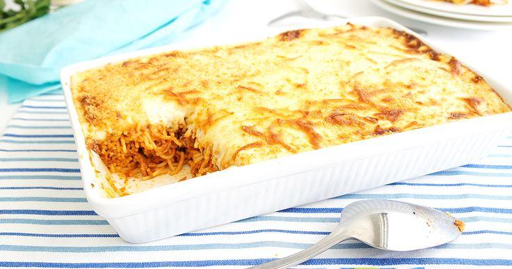 Cheesy pasta bakes that'll make your tummy happy.