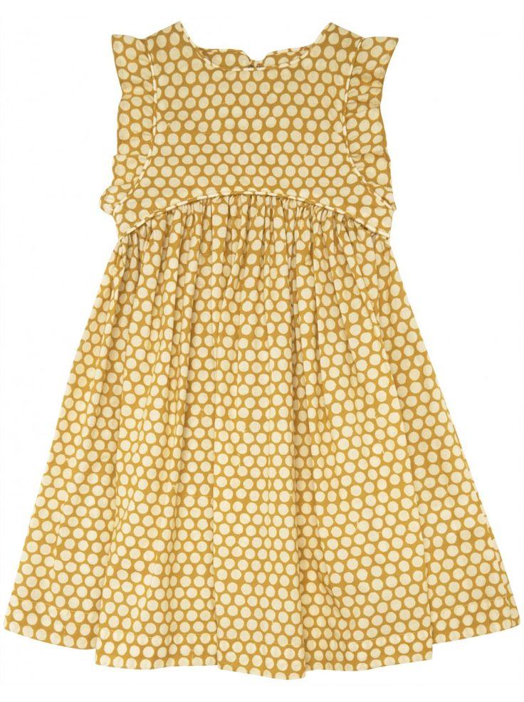 Miller Agra Dress - Yellow | Elias & Grace Childrenswear | ELIAS & GRACE
