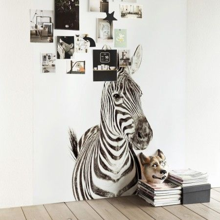 carta da parati zebra magnetica