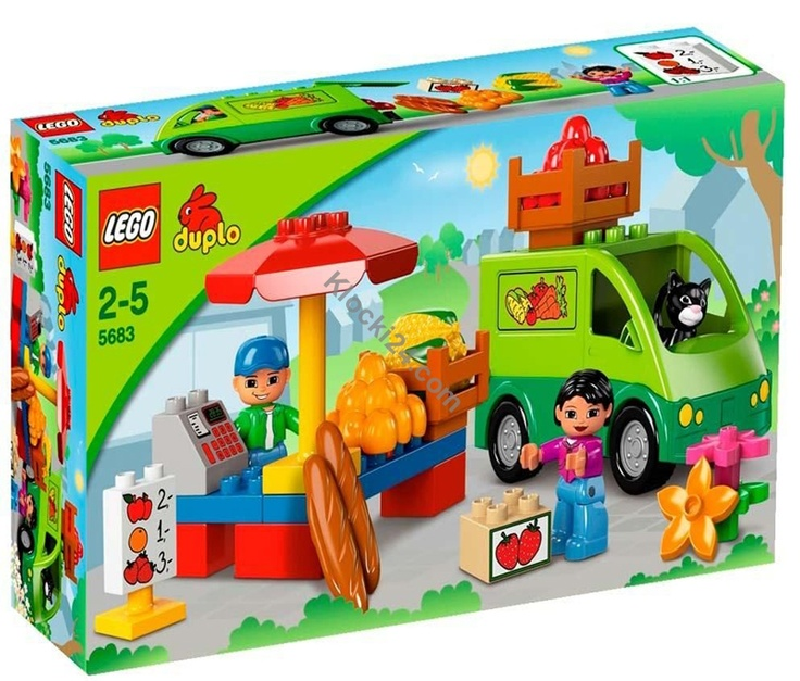 Dostępny w sklepie Klocki24.com zestaw Lego 5683 Duplo to warzywniak, w którym codziennie można dostać świeżutkie produkty prosto z farmy. Wspaniały pomysł na prezent zarówno dla chłopców jak i dla dziewczynek.