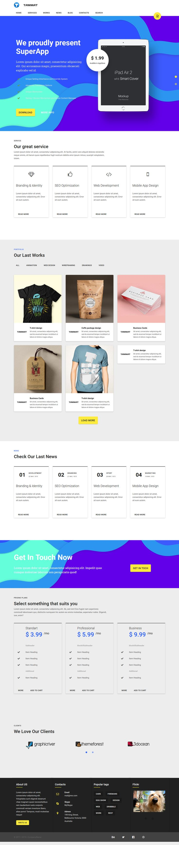 50+ best HTML Portfolio Templates images by best Graphic Design on ...
