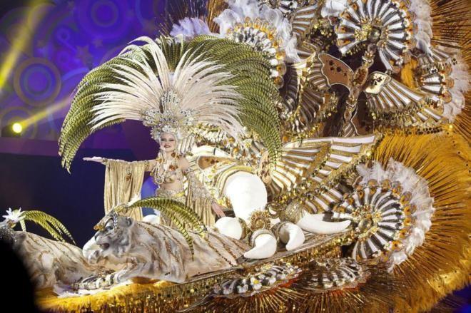 Cecilia Navarro Arteaga, nueva reina del Carnaval de Santa Cruz de Tenerife | Sociedad | EL MUNDO