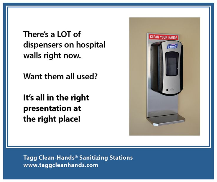 There Are Many Hand Rub Dispensers On Hospital Walls A Hand