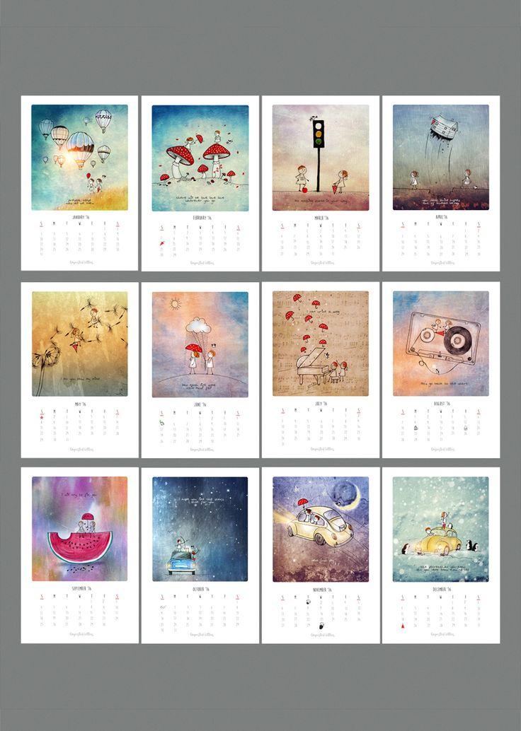 Vimal Chandran's 2016 Calendar Months