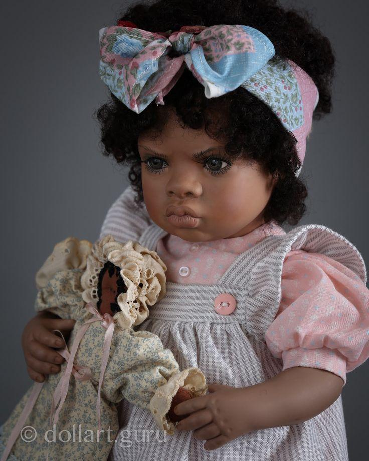 Zennya. Фарфоровая кукла Линды Стил