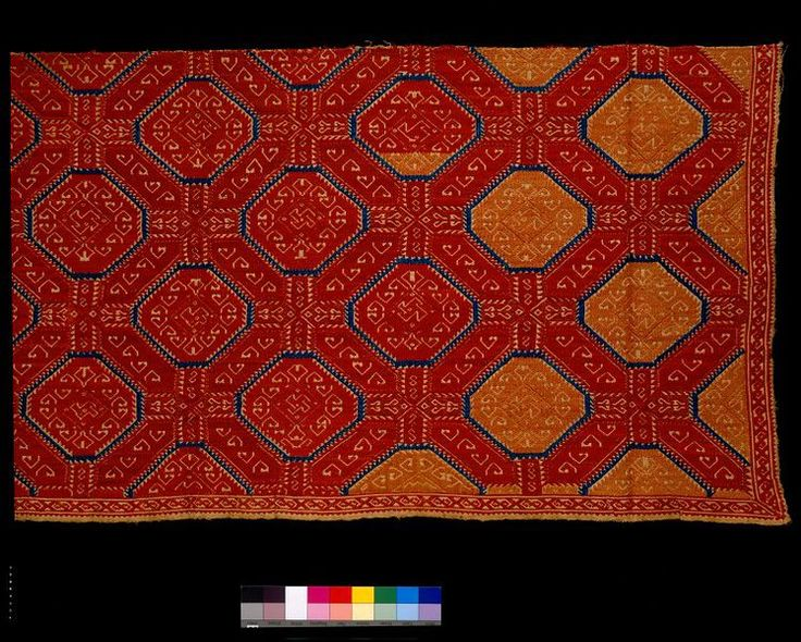 Bed curtain | | V&A Search the Collections