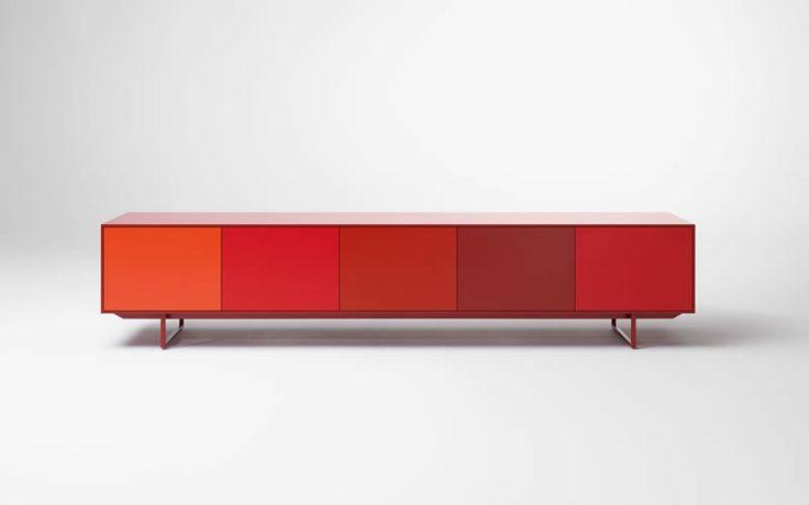 Pastoe | Noon #Dutchdesign #design #Red #color #kokwooncenter #201605