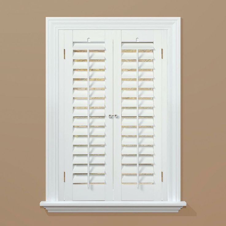 Interior Plantation Shutters Home Depot Alluring Design Inspiration