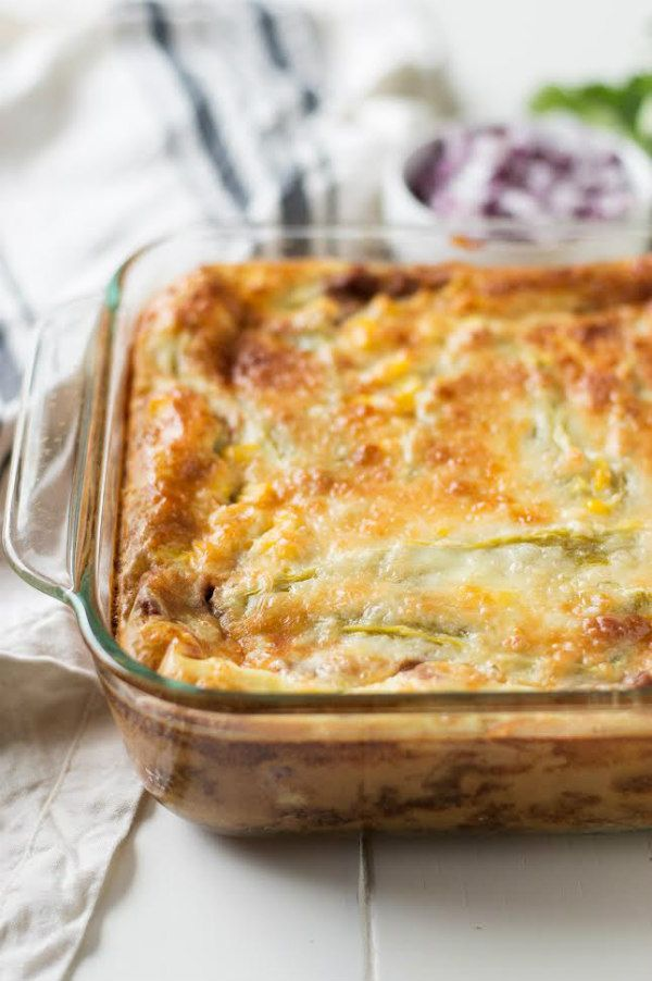 Chiles Rellenos Casserole Recipe, 7 WW SMart Points!!!