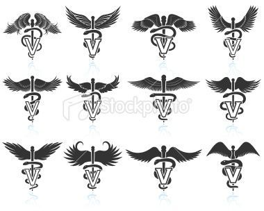 Veterinary Symbol Tattoo | Might me a cool a tattoo to get