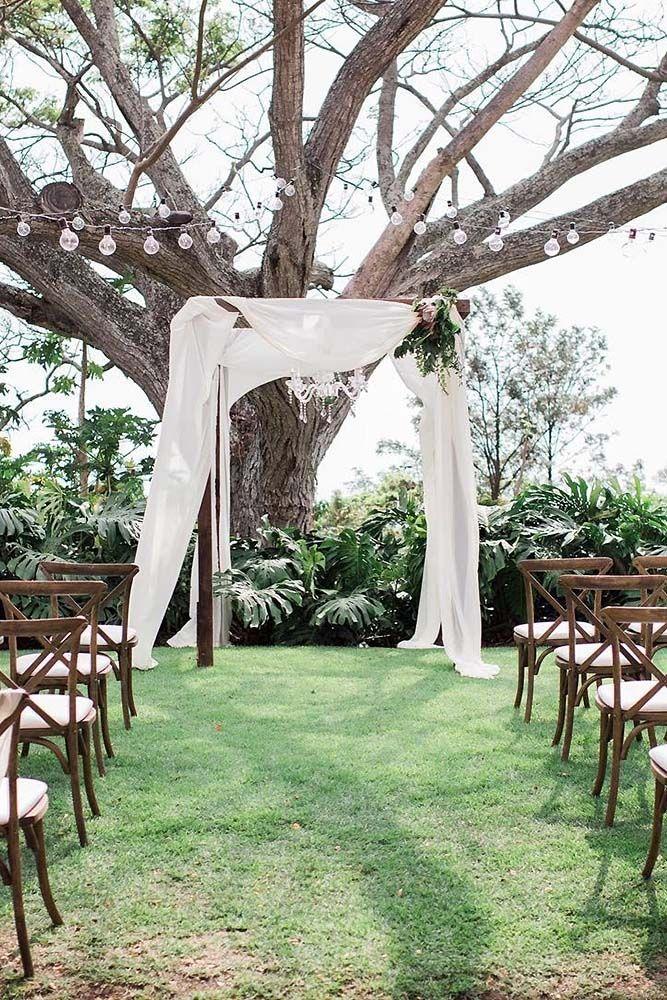 backyard wedding ceremony decoration ideas%0A    Cozy Rustic Backyard Wedding Decoration Ideas