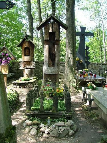 Zabytkowy Cmentarz - Pęksów Brzyzek, Zakopane, Poland