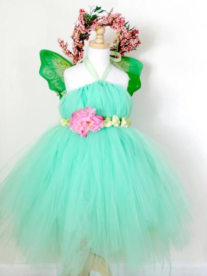 DIY Network has easy instructions on how to make a no-sew fairy princess Halloween costume.