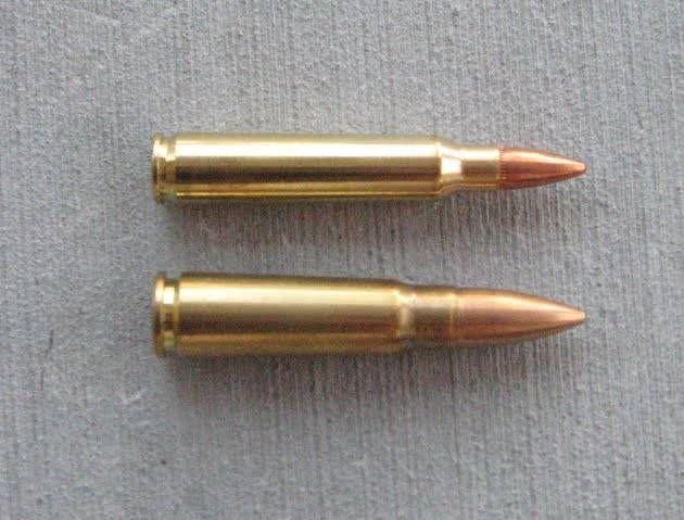 7 62mm vs 5 56mm shtf ammo pinterest
