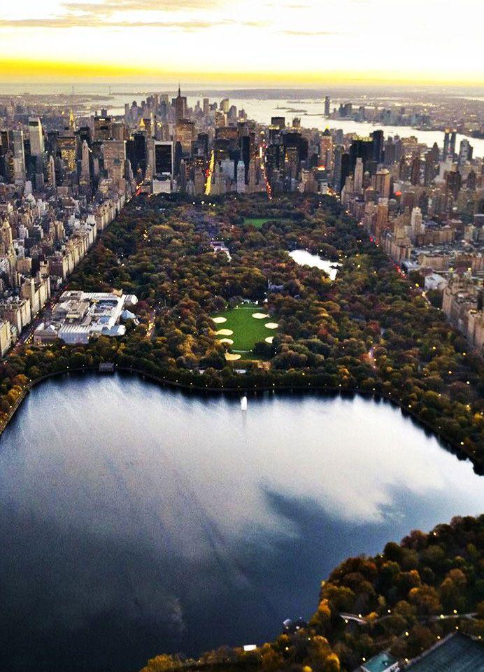 Central Park, New York City. **