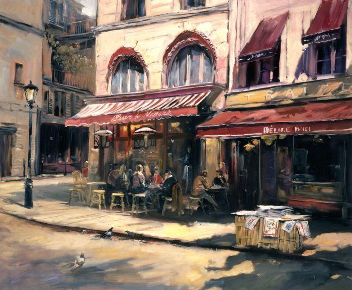 Christian Vernet ~ Street Corner, Paris, 2010