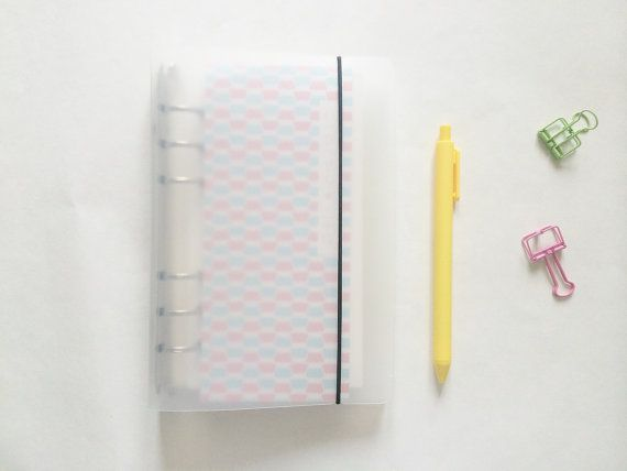 Clear Plastic Binder  A6 / A5 by PapergeekMY on Etsy
