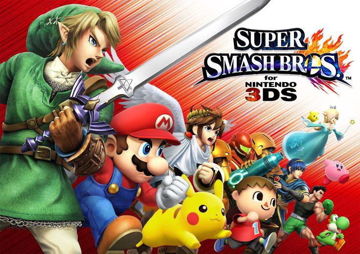Super Smash Bros 3DS - review  http://www.senses.se/super-smash-bros-3ds-recension/