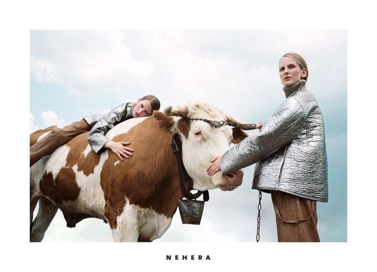 NEHERA AW17 campaign womenswear nature michal pudelka