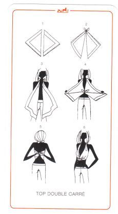Scarf top inspiration