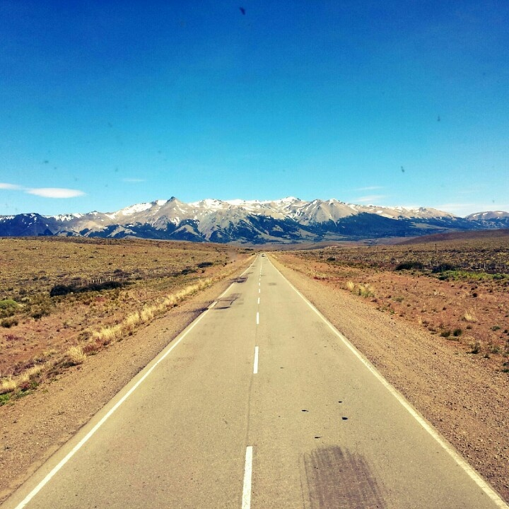 I remember this 17 hour long, dry desert drive down route 40, and finally approaching these mountains that'll take us into lush Bariloche, Argentina.
