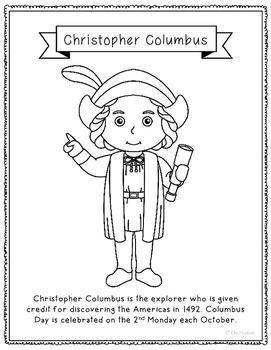 top 25+ best christopher columbus biography ideas on pinterest ... - Christopher Columbus Coloring Page