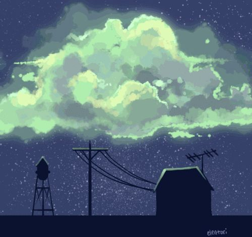 All hail the Glow Cloud. [GIF]