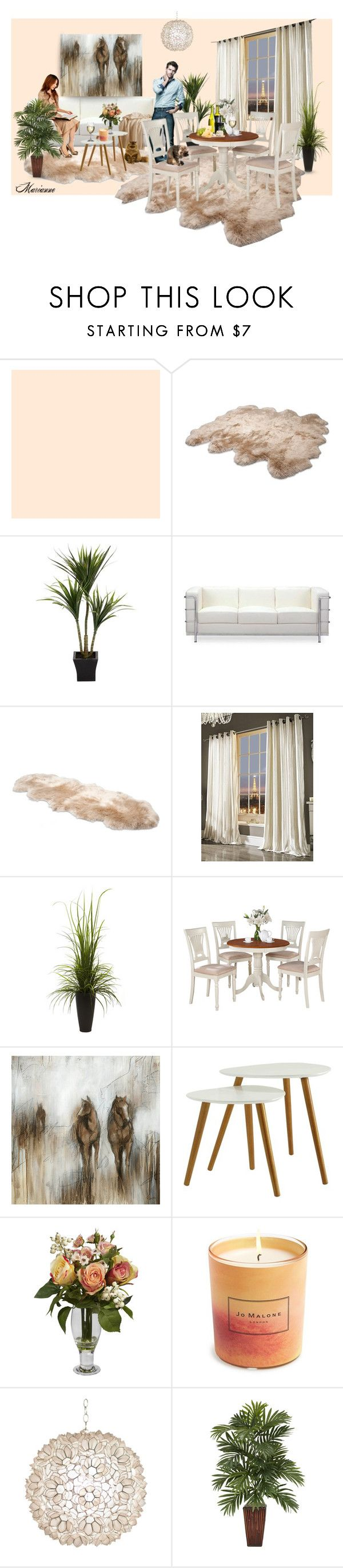"""Home 2"" by marianne-spiessens on Polyvore featuring interior, interiors, interior design, home, home decor, interior decorating, UGG Australia, Zuo, Kylie Minogue and Nearly Natural"