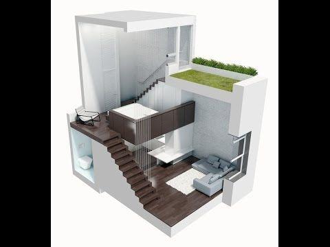 14 best v deo de casas contenedor modernos images on for Casa moderna minimalista interior 6m x 12 50 m