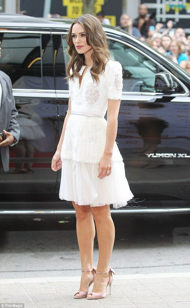 Keira Knightley - At the premiere of 'The Imitiation Game' @ Toronto International Film Festival.  (September 2014)