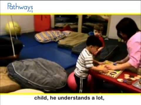 See how this boy's social & sensory integration skills have increased with occupational therapy. #WatchThisWednesday